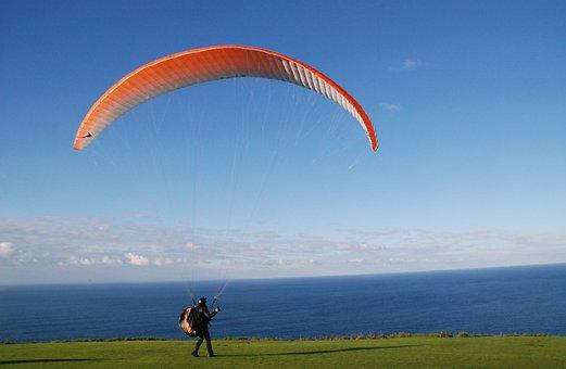 Monte San Pedro, La Coruña, Spain, Fly, Mar, Costa