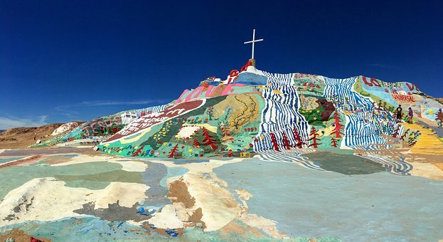 Salvation Mountain, California, Art, Monument