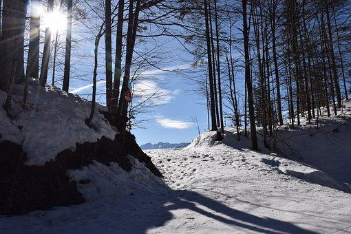Mountain, Summit, Mountains, Landscape, Alpine, Nature