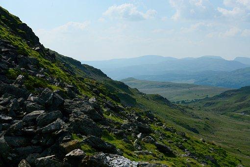 Welsh, Hills, Landscape, Scenic, Nature, Outdoor, Sky