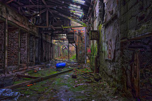 Lost Places, Factory, Pforphoto, Hall, Atmosphere