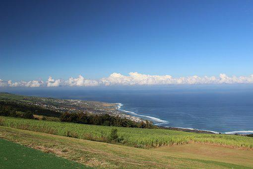 Reunion Island, Saint Leu, Indian Ocean, Point Of View