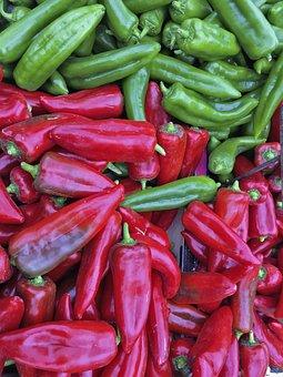 Paprika, Vegetables, Red, Healthy, Food, Cook, Fresh