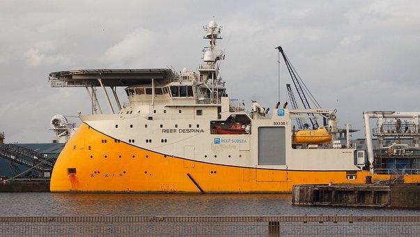 Ship, Port, Edinburgh, Scotland, Leith, United Kingdom