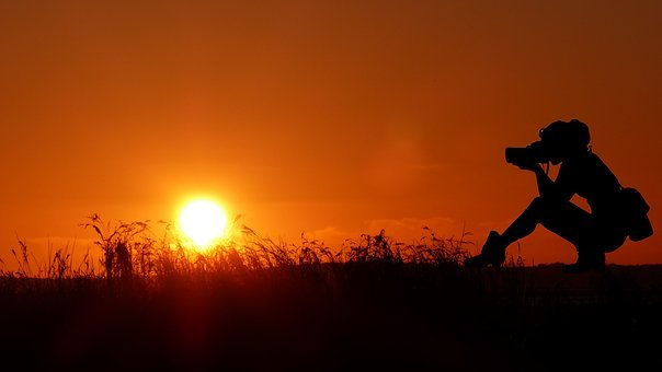 Sunset, Photographer, Nature, Sky, Landscape