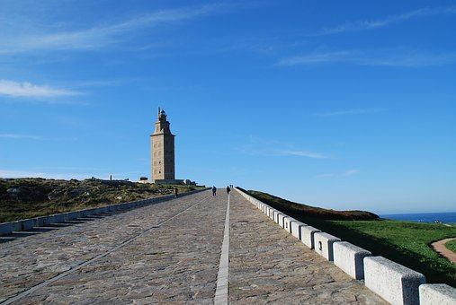 The Tower Of Hercules, La Coruña, Galicia, Spain