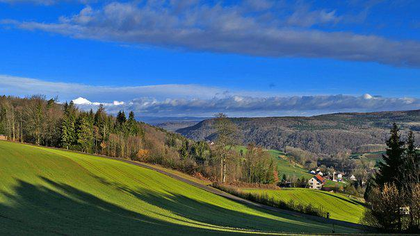 Landscape, Switzerland, Nature, Hill, Reported, Forests