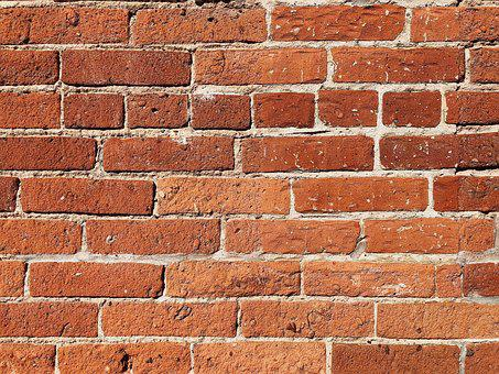 Wall, Brick, Texture, Stone, Masonry, Bricks, Red