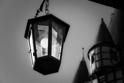 Lantern, Lamp, Light, Lighting, Light Bulb, Weird