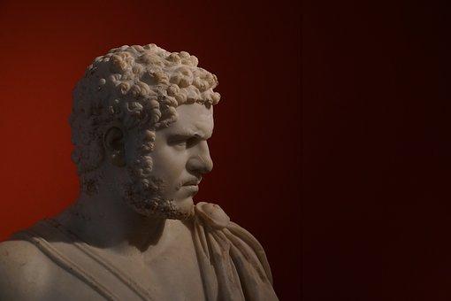 Caracalla, Bust, Antique, Severe, Emperor, History