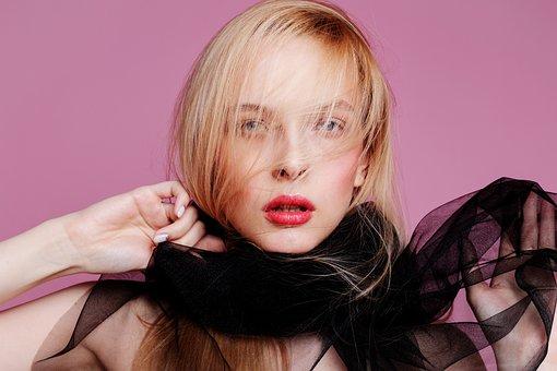 Fashion, Blonde, Pink, Makeup, Hair, Beauty, Beautiful