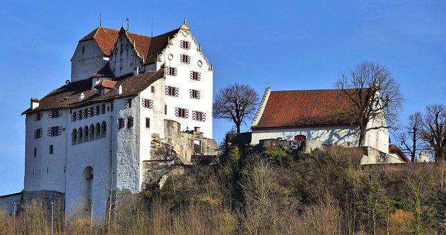 Building, Castle, Wildegg, Schloss Wildegg, Switzerland