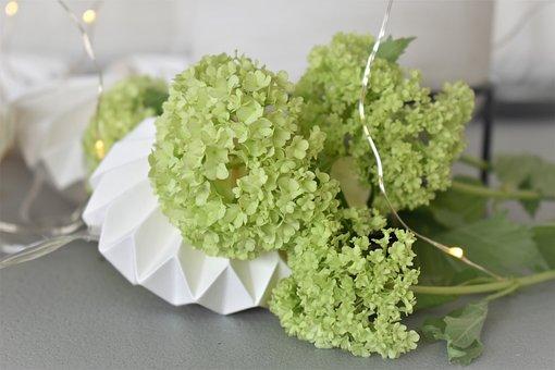 Decoration, Deco, Table Decorations, Candle, Flowers