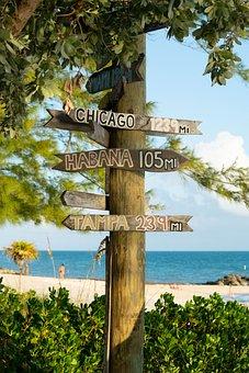 Travel, Florida, Caribbean, Usa, Key West, Holiday