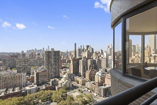New York City, Manhattan, Night, Usa, Cityscape, City
