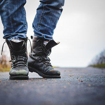 Boots, Jeans, Leather, Shoes, Fashion, Man