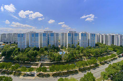 Housing, Flats, House, Home, Building, Design