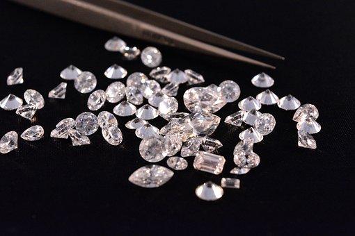 Diamonds, Gem, Gemstone, Sparkle, Luxury, Gems, Jewel