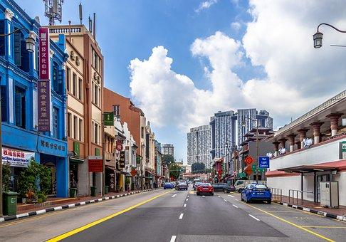 Singapore, City, Modern, Architecture, Glass