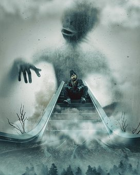 Scary, Photo Manipulation, Horror, Creepy, Scared