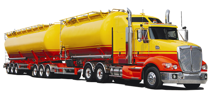 Isolated, Kenworth, T609, Tank Truck, Truck, Australia
