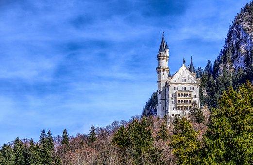 Kristin, Castle, Füssen, Bavaria, Germany, Baroque