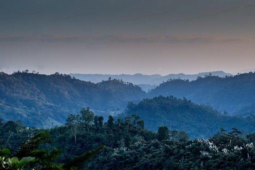 Bangladesh, Landscape, Mountains, Nature