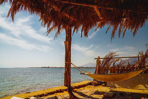 Sea, View, Sky, Landscape, Vacations, Water, Beach