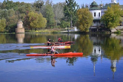 River, Ukraine, Landscape, Nature, Lake, Water