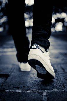 Urban, Walking, Street, Walk, City, Path, Person, Night