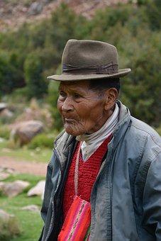 A Resident Of Mold, Puno, Peru, Indigenous, Spirit