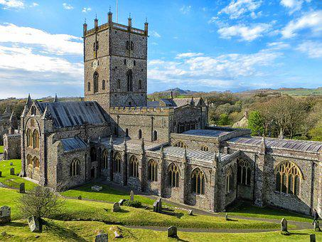 St Davids, St David's, Cathedral, St Davids Cathedral