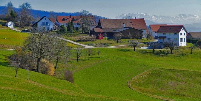 Nature, Landscape, Switzerland, Aargau, Obersiggenthal