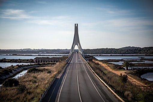 Bridge, Road, Cars, Highway, Architecture, Travel