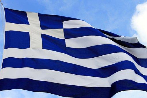 Flag, Greece, Blue, Symbol, Nation, Country, Europe