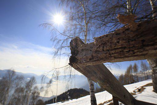 Sun, Nature, Snow, Mountain, Light, Landscape, Campaign