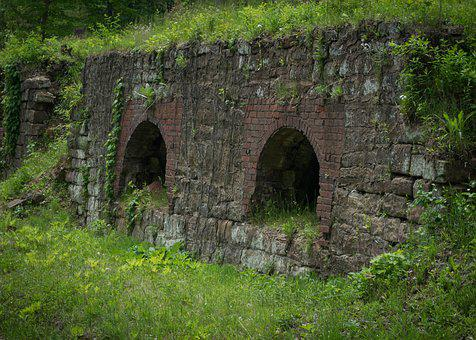 Ohio, Coke Oven, Green, Outdoors