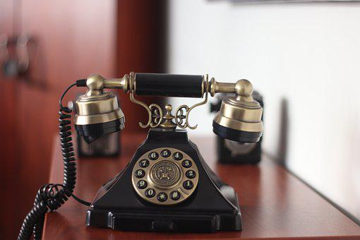 Old, Phone, Antique, Contact, Nostalgia, Technology