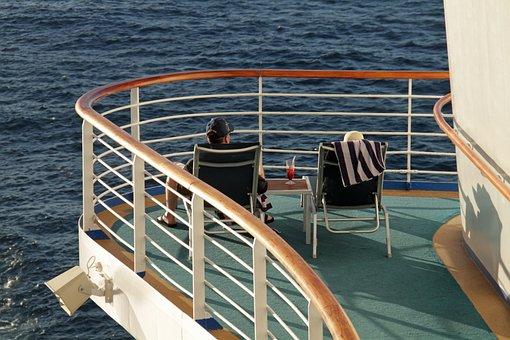 Relaxing, Resting, Ship, Cruise, Vacations, Cruising