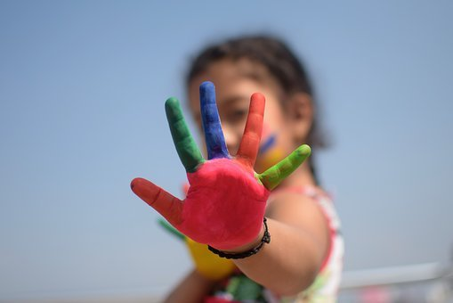 Colorful, Five Fingers, Kid, Fingers, Playful, Rating