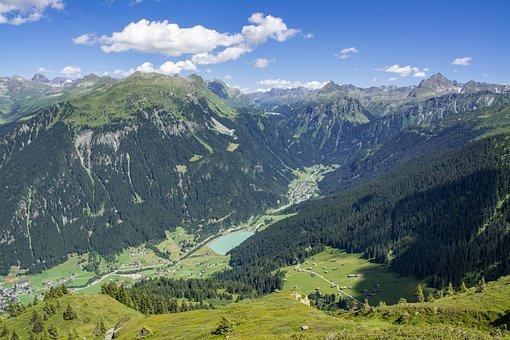 Vorarlberg, Austria, Montafon, Gaschurn, Partenen