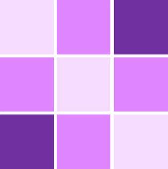 Geometric, Cubes, Shades, Purple, Lavender, Lilac