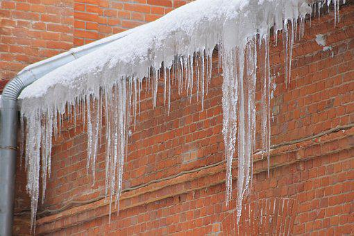 Icicles, Sosuli, Ice, Snow, Roof, Winter, Nature