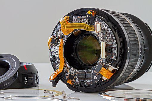 Lens, Feinmechanik, Broken, Repair, Photograph