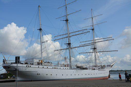 Gorch Fock, Sail Training Ship, Marina, Museum