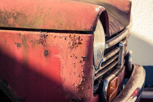 Honda, N600, Old, Used, Rust, Paint, Oldtimer, Corroded