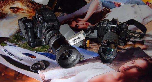 Photographer, Photo Camera, Photos, Minolta