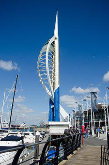 Portsmouth, Spinnaker Tower, Landmark, Tower