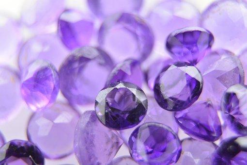 Amethyst, Gem, Gemstone, Mineral, Stone, Violet, Purple