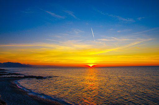 Rize, çayeli, Turkey, Sunset, In The Evening, Marine
